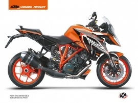 KTM Super Duke 1290 GT Street Bike Crux Graphic Kit Orange