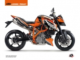 KTM Super Duke 990 R Street Bike Crux Graphic Kit Orange