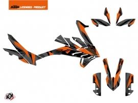 Kit Déco Moto Delta KTM 790 Adventure R Noir Orange
