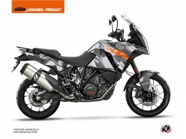 KTM 1290 Super Adventure S Street Bike Delta Graphic Kit Grey Orange