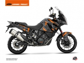 KTM 1290 Super Adventure S Street Bike Delta Graphic Kit Black Orange
