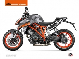 Kit Déco Moto Delta KTM Super Duke 1290 Gris Orange