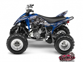 Kit Déco Quad Demon Yamaha 250 Raptor Bleu