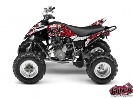 Kit Déco Quad Demon Yamaha 250 Raptor Rouge