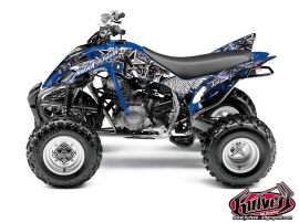 Kit Déco Quad Demon Yamaha 350 Raptor Bleu