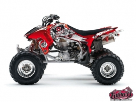Honda 450 TRX ATV Demon Graphic Kit