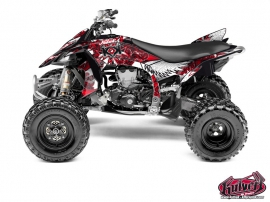 Kit Déco Quad Demon Yamaha 450 YFZ R Rouge