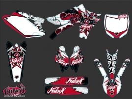 Kit Déco Moto Cross Demon Yamaha 450 YZF Rouge