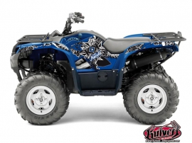 Kit Déco Quad Demon Yamaha 550-700 Grizzly Bleu