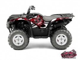 Kit Déco Quad Demon Yamaha 550-700 Grizzly Rouge