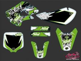 Kawasaki 65 KX Dirt Bike Demon Graphic Kit