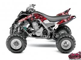 Kit Déco Quad Demon Yamaha 700 Raptor Rouge