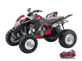 Honda 700 TRX ATV Demon Graphic Kit