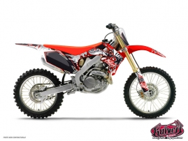 Honda 85 CR Dirt Bike Demon Graphic Kit