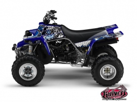 Yamaha Banshee ATV Demon Graphic Kit Blue