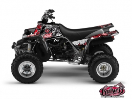 Yamaha Banshee ATV Demon Graphic Kit Red