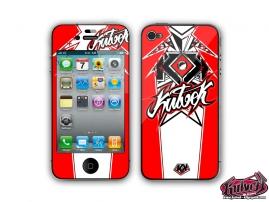Kit Déco iPhone 4 Demon Rouge