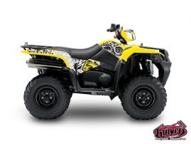 Suzuki King Quad 750 ATV Demon Graphic Kit