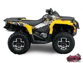 Can Am Outlander 1000 ATV Demon Graphic Kit