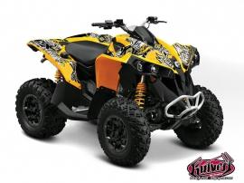 Can Am Renegade ATV Demon Graphic Kit