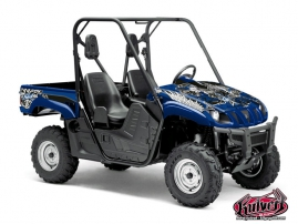 Yamaha Rhino UTV Demon Graphic Kit Blue