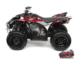 Kit Déco Quad Demon Yamaha 350-450 Wolverine Rouge