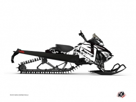 Kit Déco Motoneige Digikamo Skidoo REV-XP Blanc