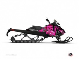 Kit Déco Motoneige DIGIKAMO Skidoo REV-XP Rose
