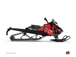 Kit Déco Motoneige DIGIKAMO Skidoo REV-XP Rouge