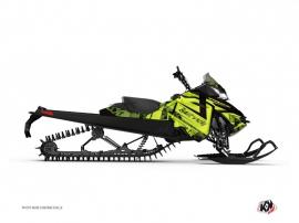 Kit Déco Motoneige Digikamo Skidoo REV-XP Vert