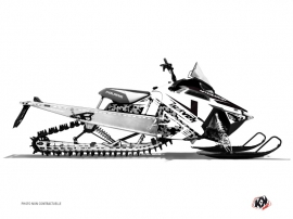 Kit Déco Motoneige Digikamo Polaris RMK Blanc