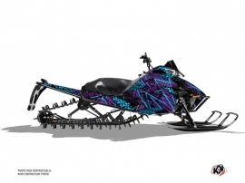 Arctic Cat Pro Climb Snowmobile Dizzee Graphic Kit Purple