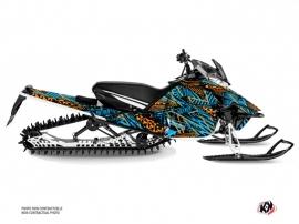 Yamaha Sidewinder Snowmobile Dizzee Graphic Kit Blue