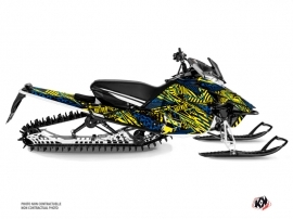 Yamaha Sidewinder Snowmobile Dizzee Graphic Kit Yellow