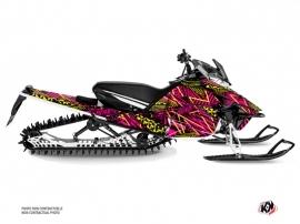 Yamaha Sidewinder Snowmobile Dizzee Graphic Kit Pink