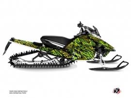 Yamaha Sidewinder Snowmobile Dizzee Graphic Kit Green