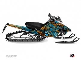 Yamaha SR Viper Snowmobile Dizzee Graphic Kit Blue