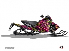 Arctic Cat Thundercat Snowmobile Dizzee Graphic Kit Pink