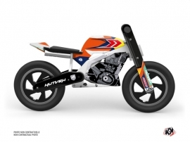 Balance Bike + KUTVEK US STYLE Graphic Kit Orange