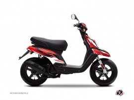 Kit Déco Scooter Electro Yamaha BWS Rouge