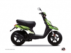 Yamaha BWS Scooter Electro Graphic Kit Green