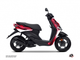 Yamaha NEOS Scooter Electro Graphic Kit Red