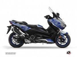 Yamaha TMAX 530 Maxiscooter Energy Graphic Kit Grey Blue