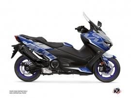 Yamaha TMAX 560 Maxiscooter Energy Graphic Kit Grey Blue