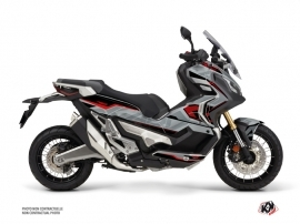 Honda X-ADV Maxiscooter Energy Graphic Kit Grey Red