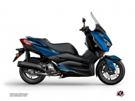 Yamaha XMAX 400 Maxiscooter Energy Graphic Blue Black
