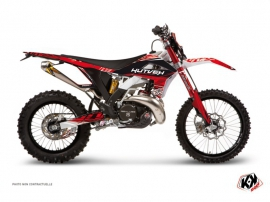 Kit Déco Moto Cross Eraser GASGAS 125 EC Rouge Blanc