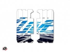 Graphic Kit Radiator guards Eraser Yamaha 125 YZ 2015-2016 Blue