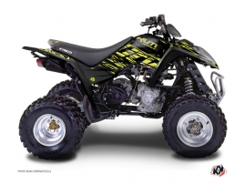 Kymco 250 MAXXER ATV Eraser Graphic Kit Neon Grey