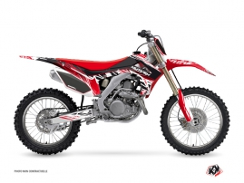 Kit Déco Moto Cross Eraser Honda 250 CRF Rouge Blanc